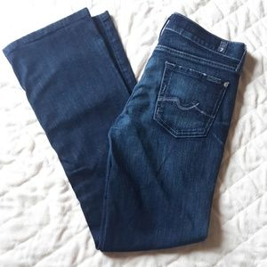 Like New!! 7 For All of Mandkind Bootcut Jeans